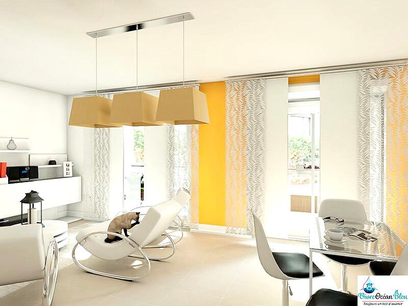 Appartements T4, 3 chambres, deux salles de bains dans le Morbihan, 25 minutes de Vannes
